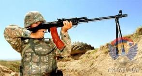 ВС Азербайджана произвели по армянским позициям около 300 выстрелов (инфографика)