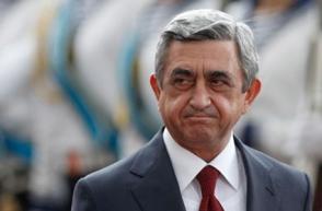 Սերժ Սարգսյանը աշխատանքային այցով մեկնել է Ղրղզստան