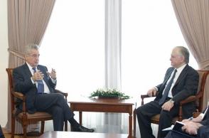 Էդվարդ Նալբանդյանը հանդիպել է Ավստրիայի նախկին նախագահ Հայնց Ֆիշերին (տեսանյութ)