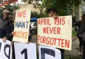 Перед посольством Турции в Вашингтоне прошла демонстрация: турки включили громкую музыку (видео)