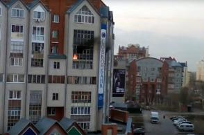 Տոմսկում 9-ամյա տղան հրդեհի ժամանակ թռել է պատուհանից