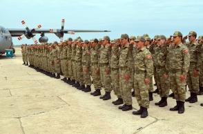 Թուրքիայի ԶՈւ ստորաբաժանումը մեկնել է Ադրբեջանից