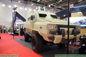 Ադրբեջանը Ստամբուլում ներկայացրել է իր «Թուֆան» զրահամեքենան