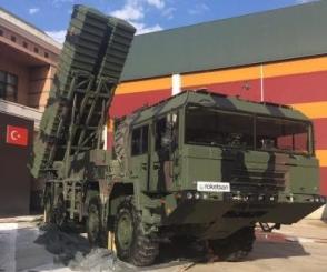 Թուրքիայում փորձարկվել է տեղական «Բորա» օպերատիվ մարտավարական հրթիռային համակարգը
