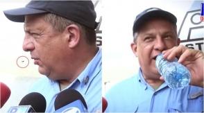 Կոստա Ռիկայի նախագահը պատահաբար իշամեղու է կուլ տվել ելույթի ժամանակ