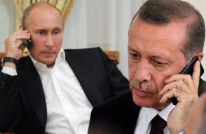 В разговоре с Эрдоганом Путин отметил планируемую дату завершения строительства «Турецкого потока»