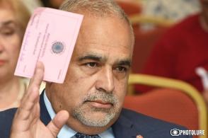 Րաֆֆի Հովհաննիսյանն ընտրվեց «Ժառանգություն» կուսակցության վարչության նախագահ (տեսանյութ)