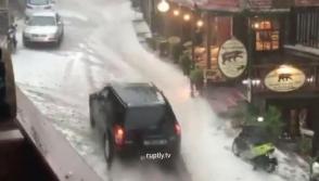Կարկուտ և փոթորիկ Հունաստանում․ վնասվել է բերքը, դաշտերն ու ճանապարհները հեղեղվել են (տեսանյութ)