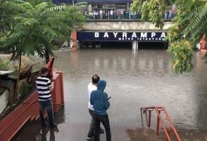 Նոր կադրեր Ստամբուլի ջրհեղեղից