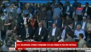 Աթոռի համար ծագած վեճի պատճառով բռունցքով հարվածել են թուրքական Օրդուի քաղաքապետին (տեսանյութ)