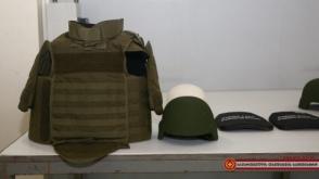 Վրաստանի ԶՈւ-ն համալրվում է տեղական արտադրության սաղավարտներով և զրահաբաճկոններով