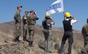 ԵԱՀԿ առաքելությունը պլանային դիտարկում է անցկացրել Հադրութի շրջանի արևելյան ուղղությամբ