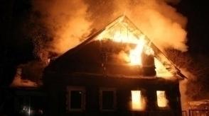 Կոճոռ թաղամասում տուն է այրվել