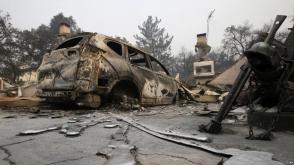Կալիֆոռնիայի անտառային հրդեհների արդյունքում զոհվել է 15 մարդ (տեսանյութ)