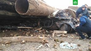 Թաթարստանում խողովակներ և ճակնդեղ տեղափոխող բեռնատարները ճզմել են մարդատար ավտոմեքենան․ կա 2 զոհ
