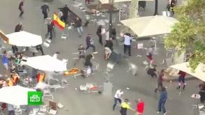 Միացյալ Իսպանիայի հարյուրավոր կողմնակիցներ և հակառակորդներ աթոռներով ծեծել են իրար (տեսանյութ)