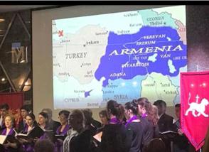 Գերմանահայ համայնքի ցուցադրած քարտեզը իրարանցում է առաջացրել թուրքական ԶԼՄ-ներում