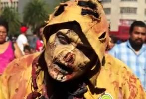 Կենդանի մեռելների շքերթ․ Մեխիկոյի փողոցները լցվել են 10 հազար զոմբիներով (տեսանյութ)