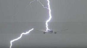 Ինչպես է կայծակը հարվածել Ամստերդամ-Լիմա չվերթի օդանավին