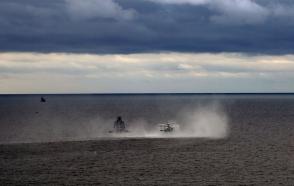 Ադրբեջանում անցկացվել է խոշոր զորավարժության ծովային փուլը