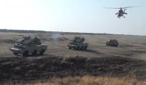 Ադրբեջանի բանակի վարժանքներին ներգրավվել է Նախիջևանի կայազորը (ֆոտոշարք)