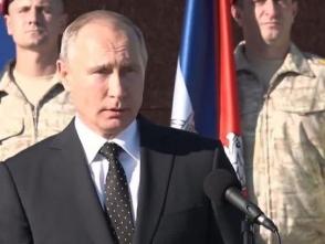 Պուտինն անսպասելի այցով մեկնել է Սիրիա և կարգադրել ռուսական զորքը դուրս բերել երկրից (տեսանյութ)