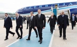 Իլհամ Ալիևը Թուրքիայում է՝ Էրդողանի հրավերով