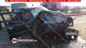 Մեծամորում ճակատ–ճակատի բախվել են Mercedes-ները. կա 2 զոհ, 6 վիրավոր