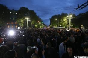 Ֆրանսիայի հրապարակում հանրահավաք տեղի ունեցավ․ նստացույցը շարունակվում է (տեսանյութ)