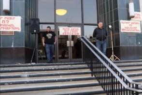 Հանրահավաք է տեղի ունեցել Գլենդելի քաղաքապետարանի դիմաց (տեսանյութ)