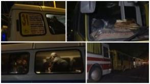 Ոստիկանական մեծաքանակ ուժերը դիրքավորված են Դեմիրճյան փողոցում (տեսանյութ)