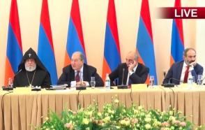 «Հայաստան» համահայկական հիմնադրամի հոգաբարձումների խորհրդի նիստը (տեսանյութ)