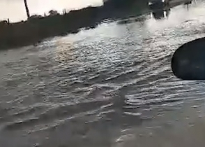 Հորդառատ անձրևների հետևանքով ջրհեղեղ է եղել Երևանում (տեսանյութ)