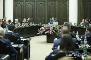 Կառավարության հերթական նիստը (տեսանյութ)