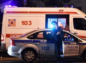 Մոսկվայի մերձակայքում ավտոբուսը մխրճվել է մարդկանց մեջ. կան վիրավորներ (տեսանյութ)