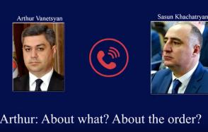 Ինչպես են ՀՀ ԱԱԾ տնօրենն ու ՀՔԾ պետը հեռախոսով քննարկում Քոչարյանի և Խաչատուրովի կալանքի հարցը (տեսանյութ)