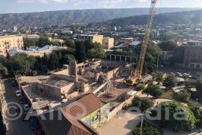Թբիլիսիի հայկական թատրոնի շենքն այսօր (լուսանկար)