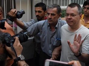 Թուրքիայում կալանավորված ամերիկացի հոգևորականն ազատ արձակվեց