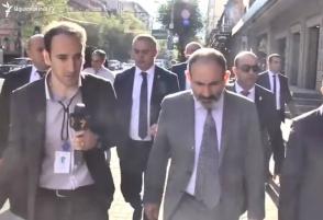 Пашинян о возможности своего выдвижения на первом этапе выборов премьер-министра: «Это – юридический вопрос» (видео)