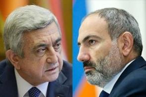 Серж Саргсян VS Никол Пашинян (видео)