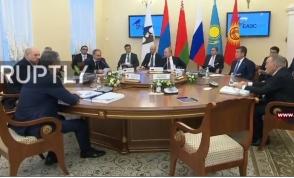 ԵԱՏՄ բարձրագույն տնտեսական խորհրդի նիստը (տեսանյութ)