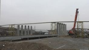 Հյուսիս-հարավ ճանապարհի շինարարները փակել են Երևան-Թալին մայրուղին