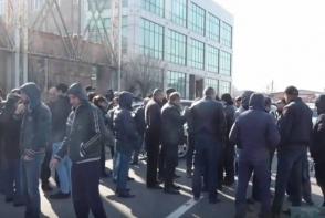 Автоимпортеры провели акцию протеста (видео)