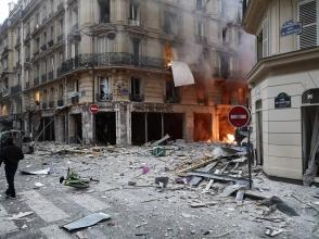 Հուժկու պայթյուն է որոտացել Փարիզում