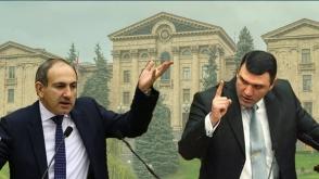Никол Пашинян VS Геворг Костанян (видео)