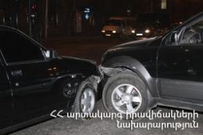 ՃՏՊ Խանջյան փողոցում. կան տուժածներ
