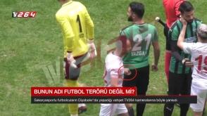 Թուրքիայում ֆուտբոլիստը կտրող-ծակող գործիքով է խաղադաշտ մտել (տեսանյութ)