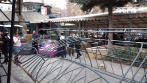 Ապամոնտաժվում էին Օպերայի հարակից տարածքի սրճարանները․ աշխատակիցները բողոքի ակցիա էին իրականացնում (տեսանյութ)