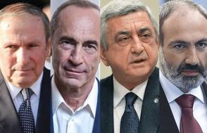 Ղարաբաղյան խնդրի կարգավորման հարցով երեք նախագահների ու Փաշինյանի մոտեցումները