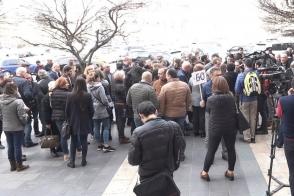 Միաժամանակ մի քանի բողոքի ցույց՝ կառավարության դիմաց (տեսանյութ)